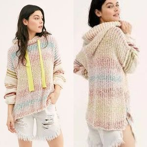 NWT Free People Sit Next To Me Hoodie